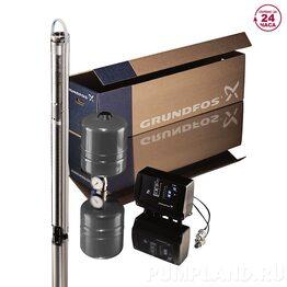 Скважинный насос Grundfos SQE 2-115 комплект