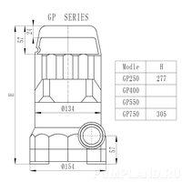 Дренажный насос GP 350