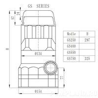 Дренажный насос GS 750..