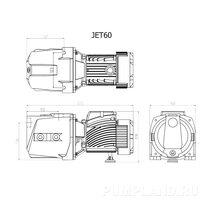 Поверхностный насос JET 60