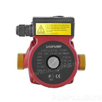Циркуляционный насос UNIPUMP UPH 20-60