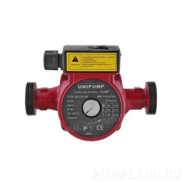 Циркуляционный насос UNIPUMP UPС 25-200