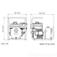 Мотопомпа Varisco JB 1-160 G30 MBS01 LIFT
