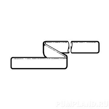 Плоский напорный шланг Varisco H150 4 BAR