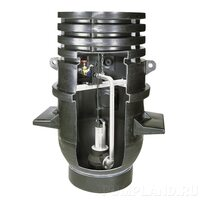 Насосная шахта Wilo-DrainLift WS 1100E/MTC 32, MTS 40