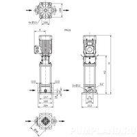 Центробежный насос Wilo HELIX V 202-1/16/E/S/400-50